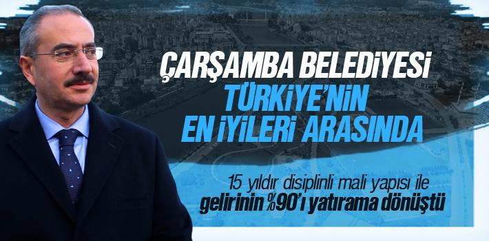 Çarşamba Belediyesi, Türkiye'nin En İyileri Arasında