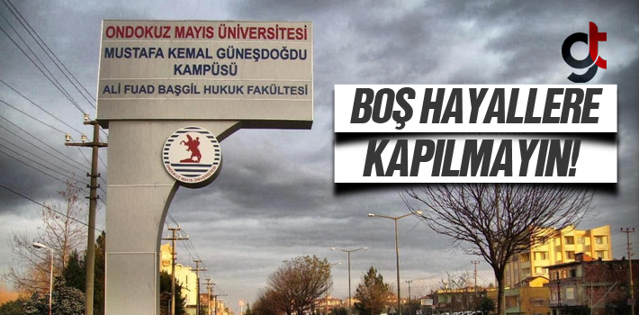 Çarşamba Hukuk Fakültesi Taşınmayacak