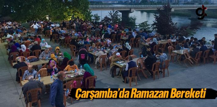 Çarşamba'da Ramazan Bereketi