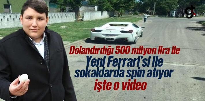 Çiftlik Bank'ın Sahibi Mehmet Aydın, Uruguay Sokaklarında Ferrari'si İle Spin Atıyor - Video Haber