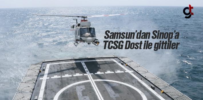 Çocuklar Samsun'dan Sinop'a TCSG Dost Gemisi İle Gittiler
