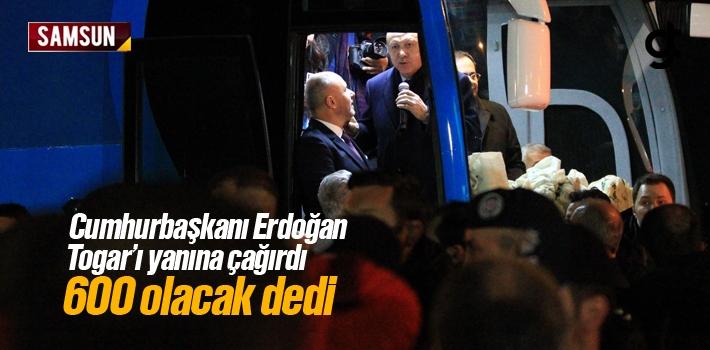 Cumhurbaşkanı Erdoğan, Togar'ı Yanına Çağırdı, 600 Olacak Dedi