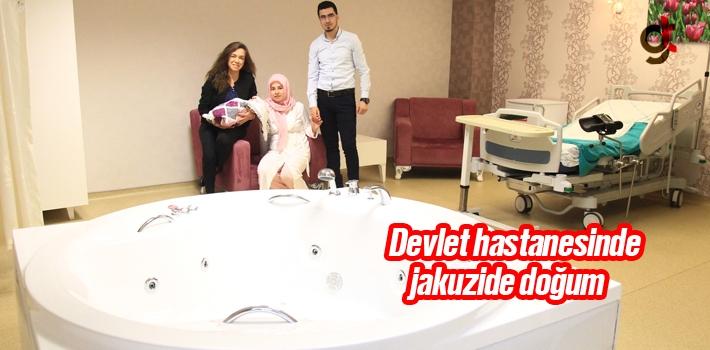 Devlet Hastanesinde 5 Yıldızlı Otel Konforunda Doğum