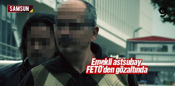 Elezığ'da Aranan Emekli Astsubay Samsun'da FETÖ'den Yakalandı