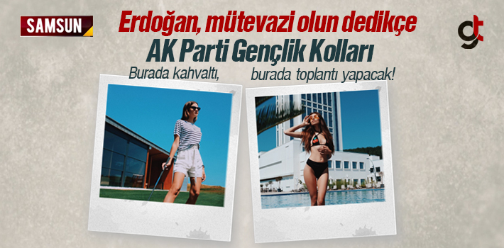 Erdoğan, Mütevazi Olun Dedikçe Bunlar Lüks Hayat Yaşıyor