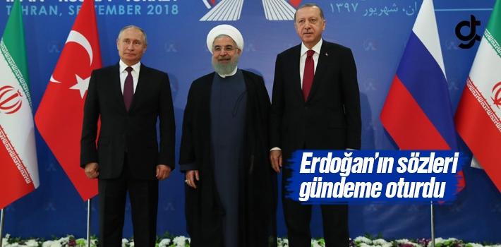 Erdoğan'ın Sözleri Zirvede Damgasını Vurdu