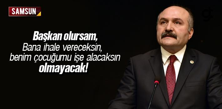 Erhan Usta; 'Benim Dönemimde Adam Kayırma Olmayacak'