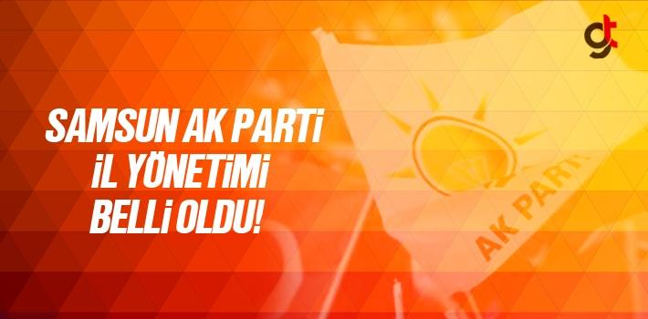 Ersan Aksu Başkanlığında AK Parti Samsun İl Yönetim Kurulu Üyeleri Belli Oldu