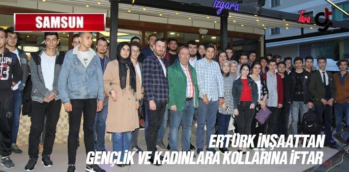 Ertürk İnşaattan AK Parti Gençlik Kollarına İftar Yemeği