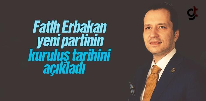 Fatih Erbakan'ın Yeni Partisi Kuruluyor, İsmi Ne Olacak?