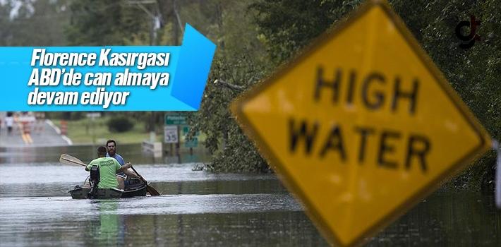 Florence Kasırgası ABD'de can almaya devam ediyor