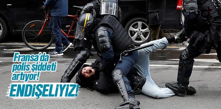 Fransa'da Polis Şiddeti Artıyor