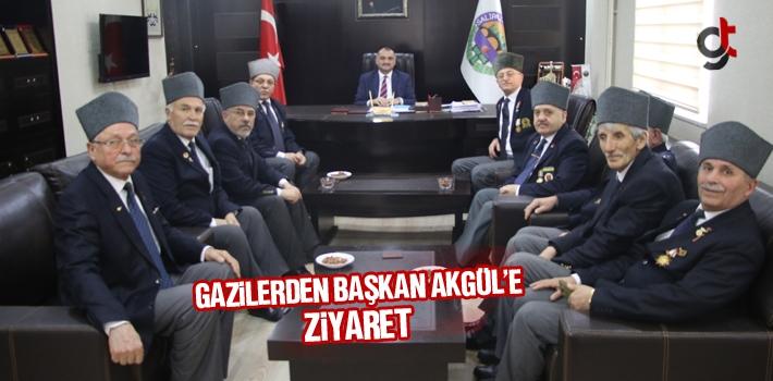 Gazilerden Başkan Akgül'e Ziyaret