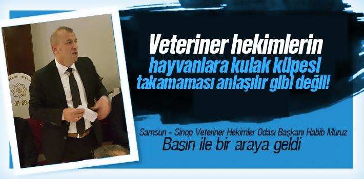 Habib Muruz, Veteriner Hekimlerin Hayvanlara Kulak Küpesi Takamaması Anlaşılır Gibi Değil!