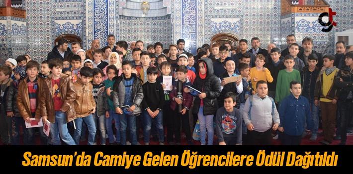 Haydi Çocuklar Camiye Projesi Samsun'da Hayat Buldu!