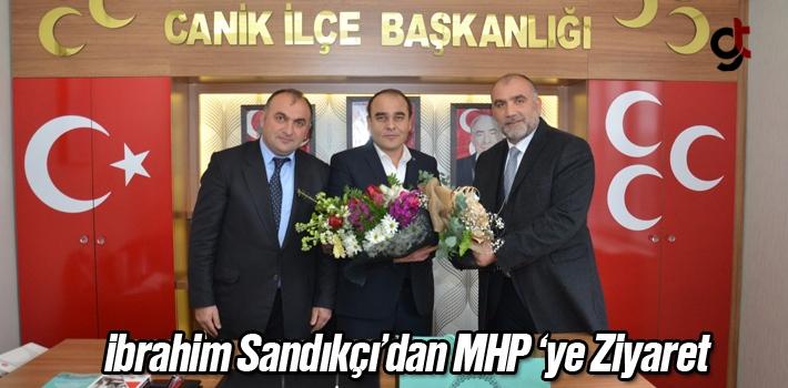 İbrahim Sandıkçı'dan MHP'ye Ziyaret