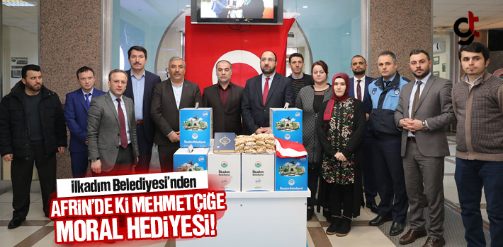 İlkadım Belediyesi'nden Afrin'de ki Mehmetçiğe Moral Hediyesi