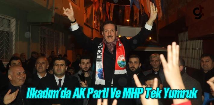 İlkadım'da AK Parti Ve MHP Tek Yumruk