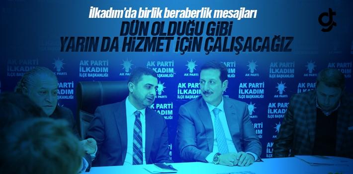 İlkadım'da Erdoğan Tok ve AK Parti Teşkilatından Birliktelik Mesajı
