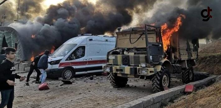 Irak'ta Türk Askeri Üssü'ne Saldırı