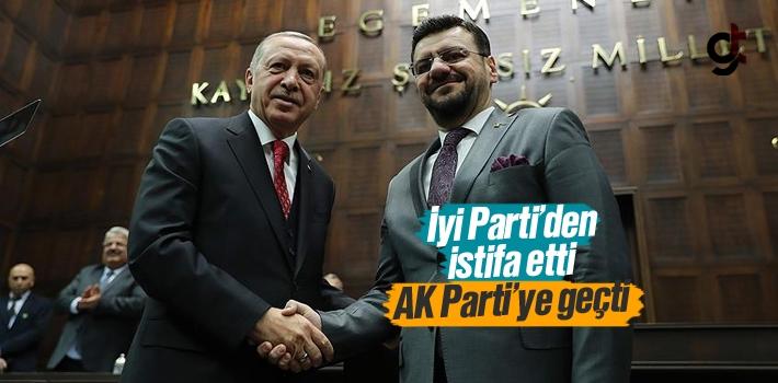 İyi Parti'den İstifa Eden Manisa Milletvekili Tamer Akkal, AK Parti'ye Geçti