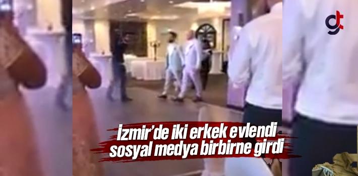 İzmir'de Eşcinsel İki Erkek Evlendi - Video Haber