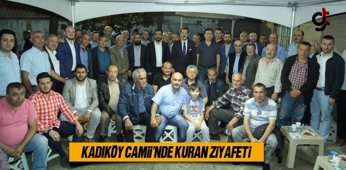 Kadıköy Camii'nde Kuran Ziyafeti