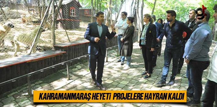 Kahramanmaraş Heyeti Samsundaki Projelere Hayran Kaldı