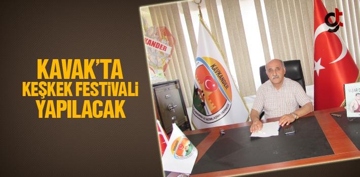 Kavak'ta Keşkek Festivali Yapılacak