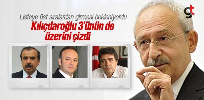 Kılıçdaroğlu, Samsun'da 3 İsmin Üzerini Çizdi