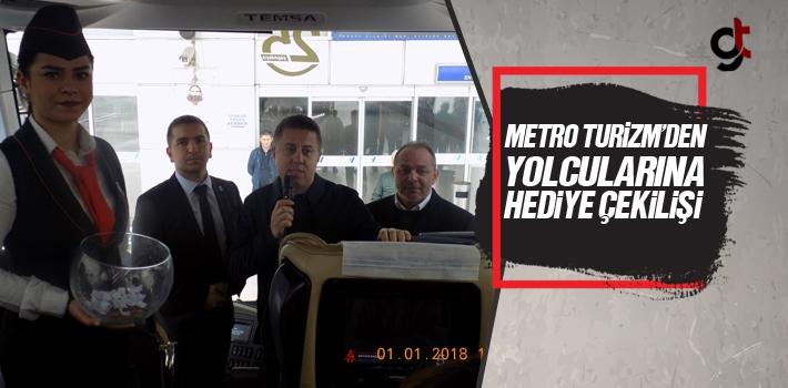 Metro Turizm'den  Yolcularına Hediye Çekilişi