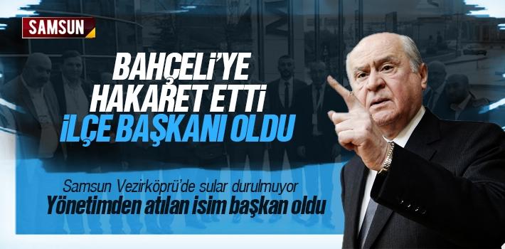 MHP Yönetiminden Atılan Dursun Gülenay İlçe Başkanı Oldu