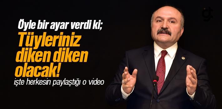 MHP'li Erhan Usta'nın CHP ve HDP'ye Verdiği Tarihi Ayar Videosu