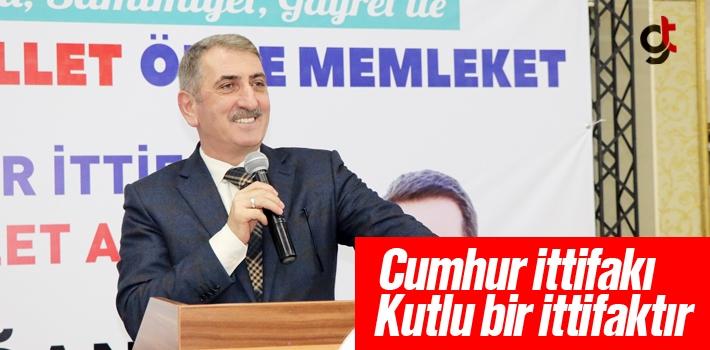 Milletvekili Köktaş, Cumhur İttifakı Kutlu Bir İttifaktır