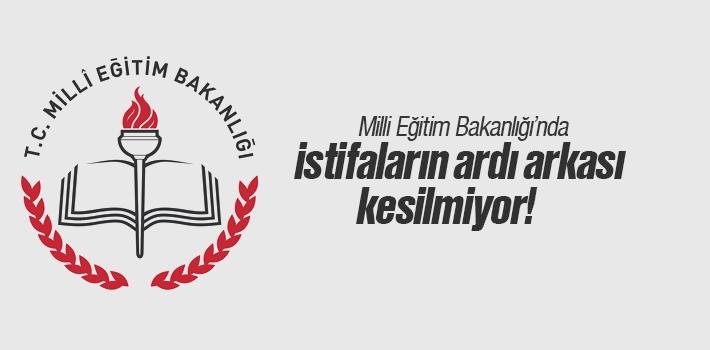 Milli Eğitim Bakanlığı'nda Milletvekilliği İçin İstifalar Peş Peşe Geliyor