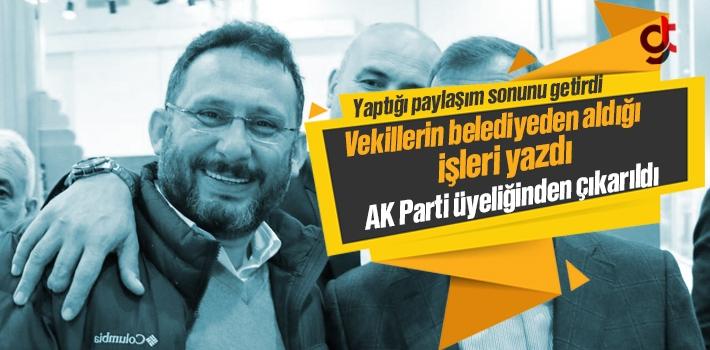 Murat Çelik AK Parti Üyeliğinden Atıldı Mı?