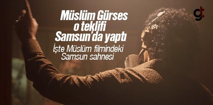 Müslüm Gürses İle Muhterem Nur Samsun'da Tanıştı