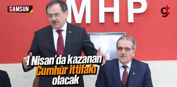 Mustafa Demir; 1 Nisan'da Kazanan Cumhur İttifakı Olacak