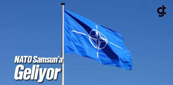 NATO görevindeki gemiler Samsun'a geliyor