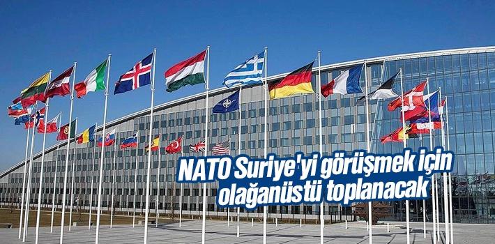 NATO, Suriye İçin Olağanüstü Toplanacak