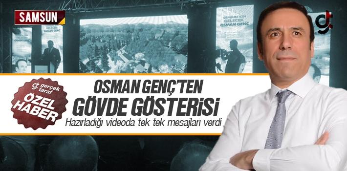Osman Genç'ten Samsun İçin Gövde Gösterisi