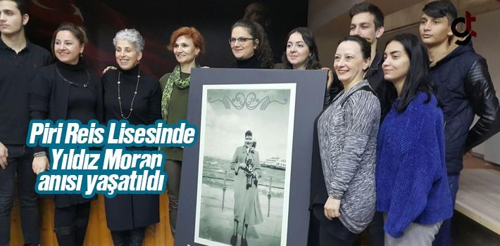Piri Reis Lisesinde Yıldız Moran Anısı Yaşatıldı