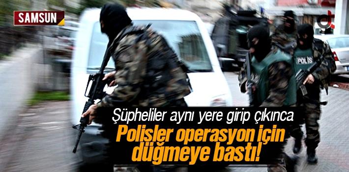 Polisler Şüphelenince Operasyon İçin Düğmeye Bastı
