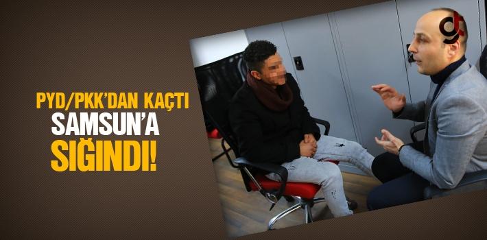 PYD/PKK'dan Kaçtı Samsun'a Sığındı!