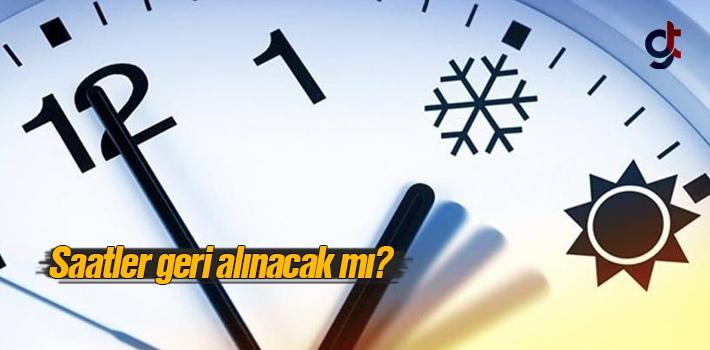 Saatler geri alınacak mı? Kış saati uygulaması yapılacak mı? (İleri saat uygulaması Resmi Gazete'de)