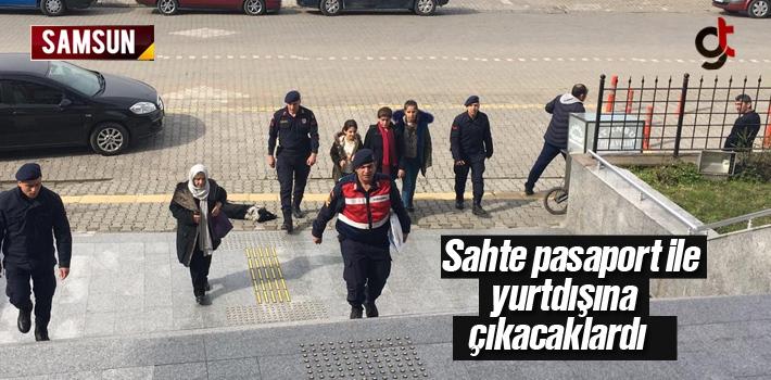 Sahte Pasaport İle Yurtdışına Çıkmak İsteyen 7 Kişi Gözaltında