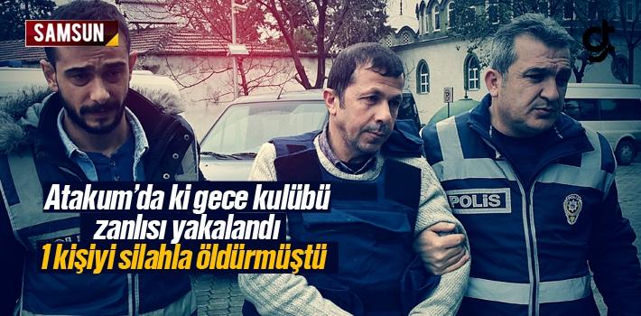 Samsun Atakum'da Gece Kulübü Zanlısı Yakalandı