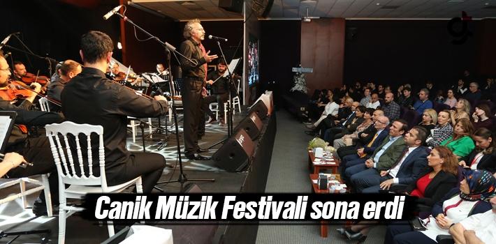 Samsun Canik Müzik Festivali sona erdi