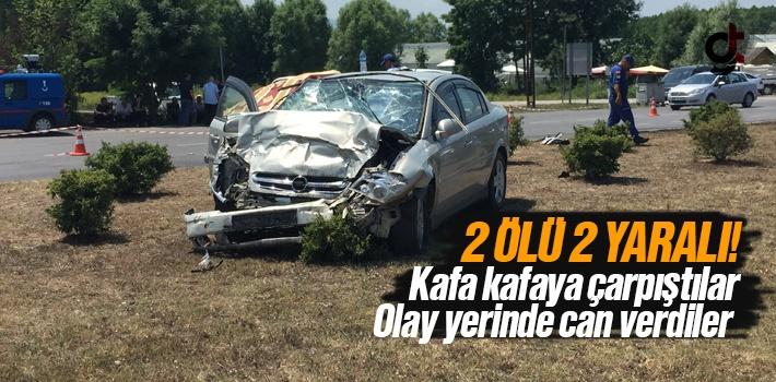 Samsun Çarşamba'da Feci Kaza 2 Ölü 2 Yaralı