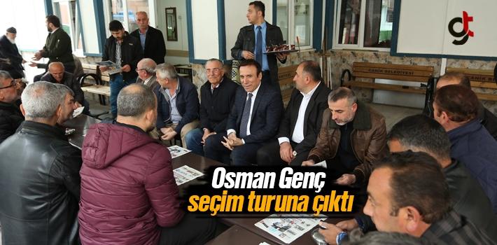 Samsun Haber:  Osman Genç Seçim Turuna Çıktı
